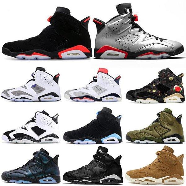 6 JSP réfléchissant Bugs Bunny mens chaussures de basket-ball 3 M 6 s réfléchissant argent chaussures de sport mode luxe hommes femmes designer sandales chaussures