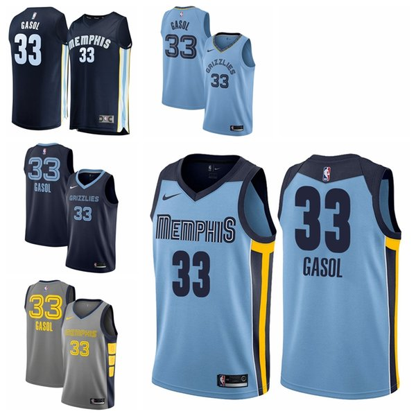 finest selection 52c81 0e19e 2019 2019 33 Gasols Grizzlies Jersey The City Memphis 33 Gasols Ball Jersey  NEW From Zjzjzzjj01, $22.34 | DHgate.Com