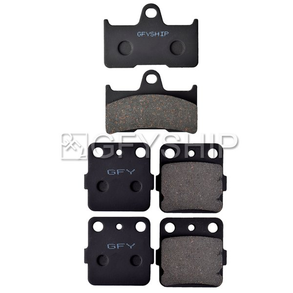 2002-2008 YAMAHA YFM 660 Grizzly Hunter Front and Rear Kevlar Carbon Brake Pads