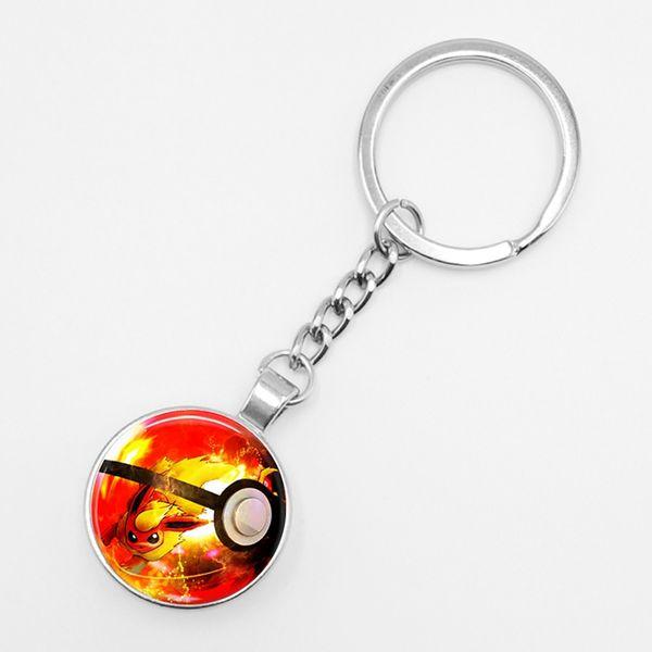 2019 New Retro Simple Anime Pokemon Go Key Ring Pikachu Glass Keychain  Pocket Monster Keyring Pendant Mini Squirtle From Puddingstation, $40 21 |