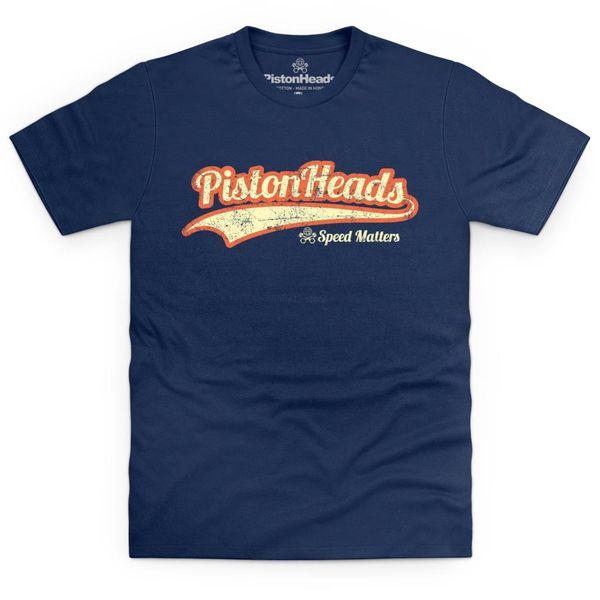PistonHeads Retro T Shirt 2019 новая уличная мужская футболка с короткими рукавами