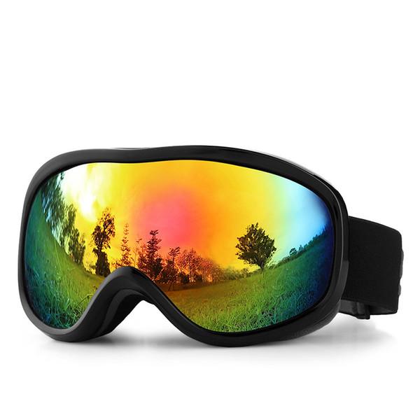 Anti-brouillard Lunettes De Ski À Double Lentille UV400 Snowbaord Lunettes Hommes Femmes Ski Hiver Lunettes De Ski En Verre De Googles Lunettes De Snowboard