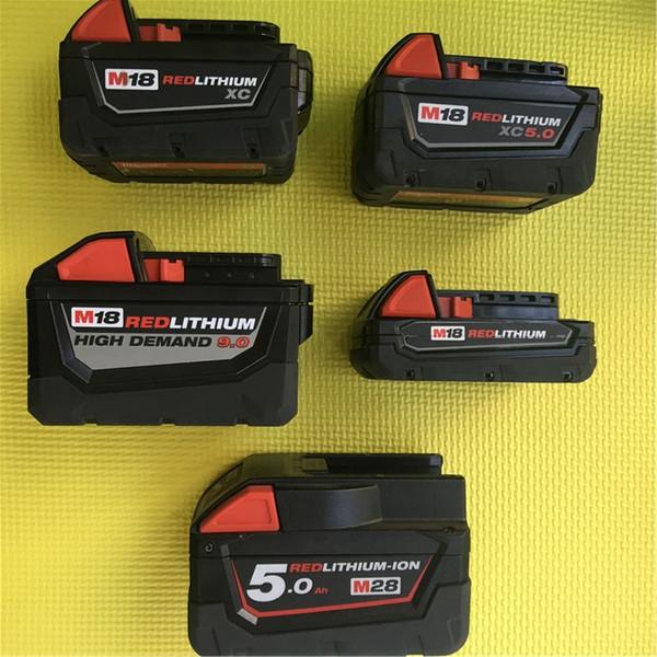 Milwaukee 18V 28V 1,5 3,0 5,0 Ah importiert neue Lithium-Ionen-Batterien Gebrauchte Produkte