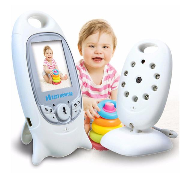 Kablosuz Bebek Monitörü 2 inç BeBe Baba Elektronik Çocuk Bakıcısı Radyo Video Dadı Kamera Gece Görüş Sıcaklık Izleme VB601