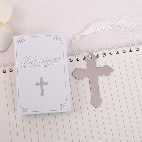 Bereket Gümüş Çapraz Imi ile Püskül Düğün Bebek Duş Vaftiz Parti Hediyeler Ücretsiz Nakliye LX7915 Şekeri