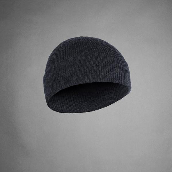 100% Súper fina lana merino hombres mujeres unisex Beanie Hat Calentador deportivo Térmico invierno al aire libre Acanalado Tejido Warden TAD Style Cap
