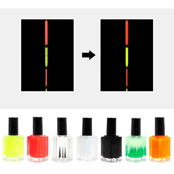 Bricolage Pêche Flotteur Peinture Liquide Couleurs Fluorescentes Indicateur Professionnel S'attaquer Réparation Diluant Accessoires Attirer La Peinture À L'huile