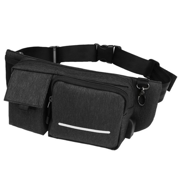 New Waist bag Men Functional Waist Pack Waterproof Belt bag Pouch Phone Money Large nylon Fanny Pack Hip P1017