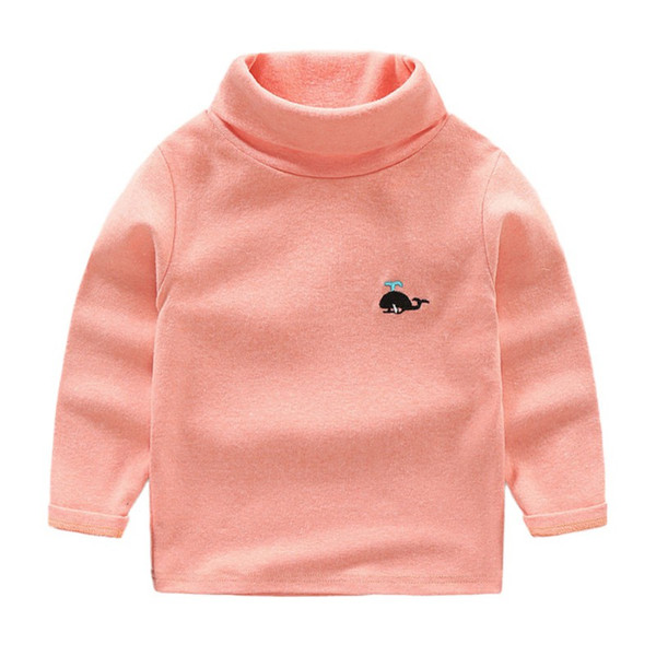 Kids Clothes Casual Boys Girls Autumn Spring Cotton T-shirt Baby Long Sleeve Tops Sweatshirt Blouse For Children 2-7 Years