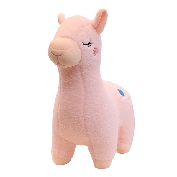 30/40cm Cartoon Alpaca Plush Doll Toy Sheep Soft Stuffed Animal Plush Llama Birthday Gift for Baby Kid Children