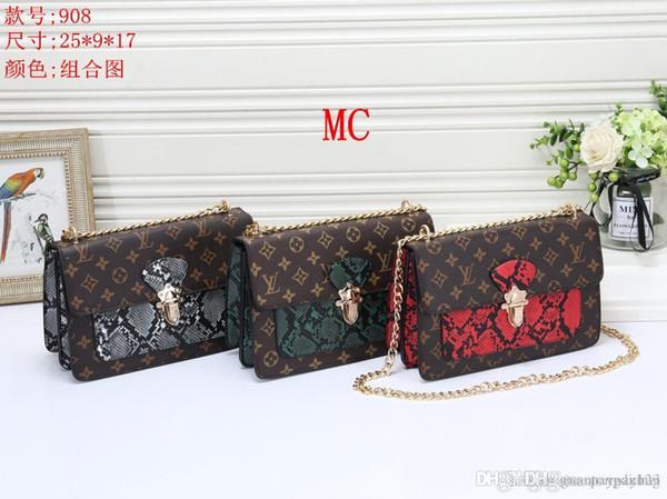 908 MC Best price High Quality women Ladies Single handbag tote Shoulder backpack bag purse wallet