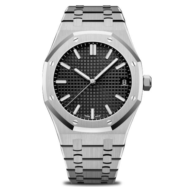 Montres de luxe pour hommes Montre automatique classique 42mm en acier inoxydable Super Quality Watch Or rose Royal Oak Watch Livraison gratuite