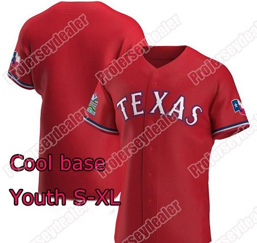 Rojo Juvenil S-XL