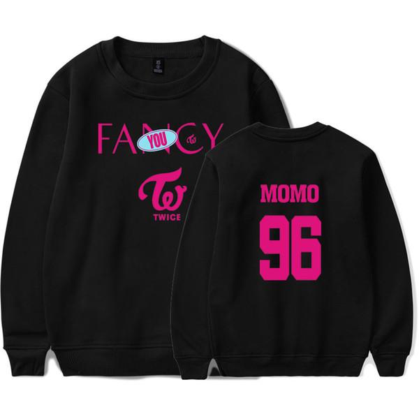 Fancy Sweatshirts Women/Men Casual Kpop Fashion Printing Clothes 2019 Spring Hot Sale Pullovers Long Sleeves Hip Hop Streetwear
