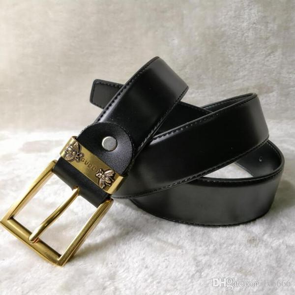 Cinghia di alta qualità della cinghia del cuoio genuino del progettista del marchio di modo della cinghia di trasporto di alta qualità uomini e donne grandi cinghie di lusso della fibbia 3 modello