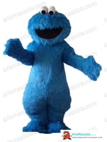 Cookie Monster костюм талисмана шаржа Mascot костюмы для детей Birthday Party Deguisement Mascotte Пользовательские талисманы ArisMascots