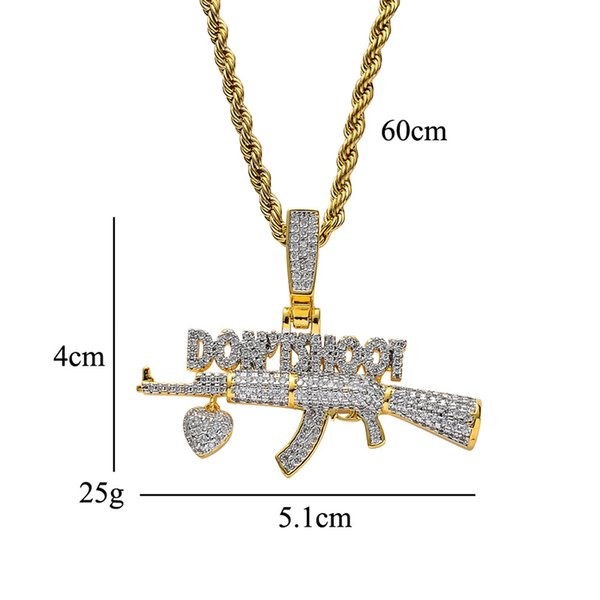 золото 24inch канатная цепь