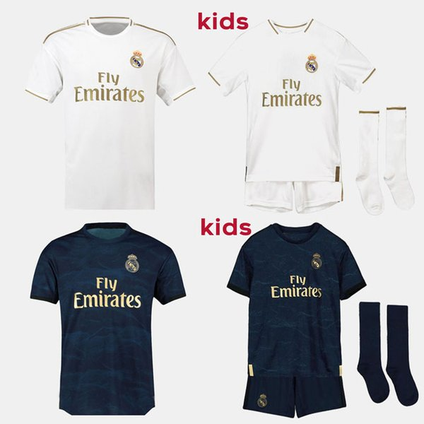19 20 Fans Version real Madrid soccer jerseys HAZARD JOVIC MILITAO camiseta 2019 2020 VINICIUS ASENSIO football shirt kids equipment