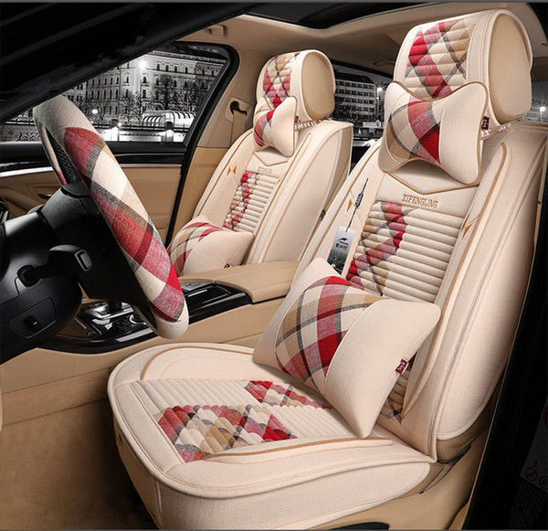 Superb New Universal Fit Car Interior Accessories Seat Covers For Sedan Luxury Pu Leather Adjuatable Five Seats Car Seat Cover For Suv Seat Covers Truck Seat Alphanode Cool Chair Designs And Ideas Alphanodeonline