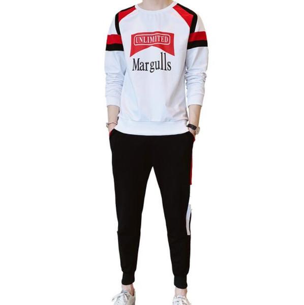 Bahar Tasarımcısı Eşofman Erkek Eşofman Moda Marka Sportsuits Için Sonbahar Uzun Kollu Pantolon Erkekler Suits Tops Giyim M-3XL