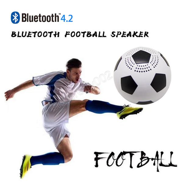 Wireless Mini Bluetooth Football Speaker Portable Speaker Handsfree Speaker Super Bass Built-in Microphone DHL free shipping