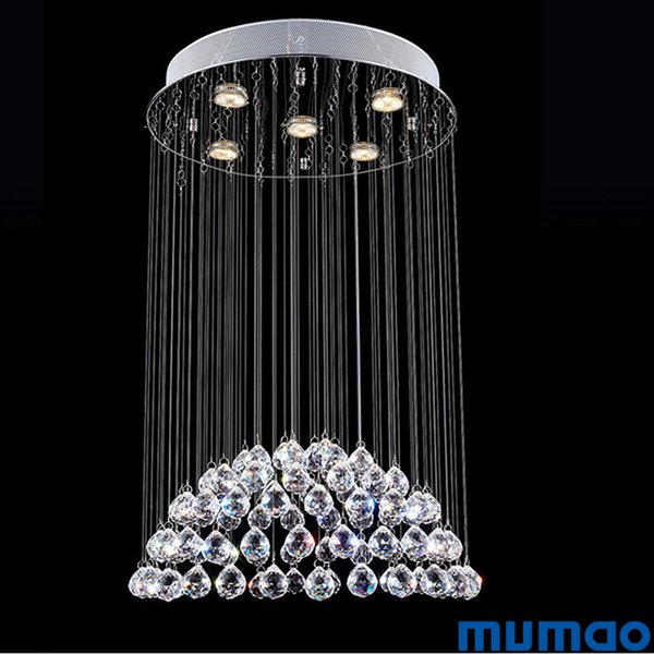 LED Crystal Chandeliers Contemporary LED Lighting Chandelier Modern Hanging Lamp for Lving Dining Room Indoor Decorative Pendant Lamp