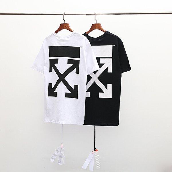 Hot hot style beliebte muster druck design T-shirt baumwolle atmungsaktiv schulter pfeil buchstaben personalisierte druckmuster stil sommer
