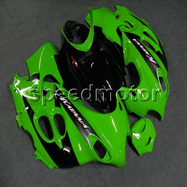 Screws+Gifts green motorcycle Fairing for Suzuki Katana 03-06 GSX600F 2003 2004 2005 2006 GSX 750F ABS plastic kit