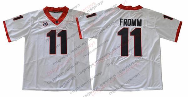 11 Jake Fromm Blanco
