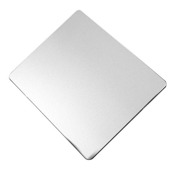 2 mm dick wasserdicht rutschfest Gilt für alle Tastaturen und Mäuse. Aluminium Mauspad mit fester Maus