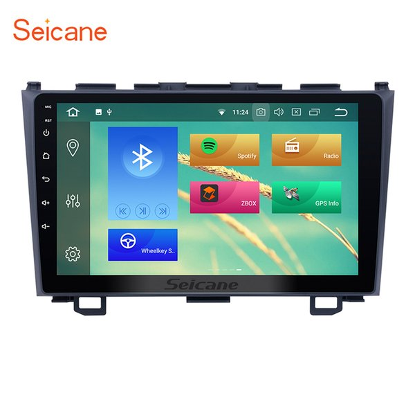 9 inch Android 8.1 Car Multimedia Player for 2006-2011 HONDA CRV with bluetooth GPS Navigation support Mirror Link OBD2 DVR car dvd 4G