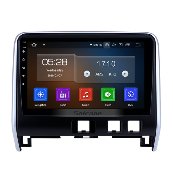 Aftermarket Android 9.0 HD Touchscreen 10.1 inch Car GPS Navigation Radio for 2016 2017 2018 Nissan Serena with wifi support car dvd 1080P