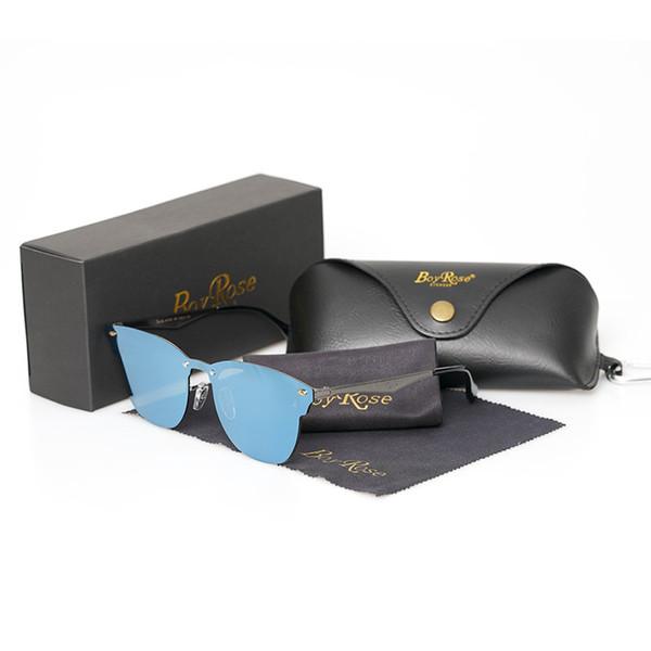 OKL Designer ray Gafas de sol Metal Bisagra Gafas de sol Hombres prohibiciones Gafas Mujeres Gafas de sol Lentes UV400 Unisex con estuches y estuches originales 3576N