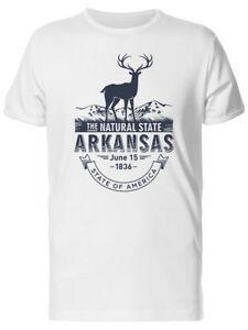 T-shirt pour hommes The Natural State Arkansas 1836 - Image de Design
