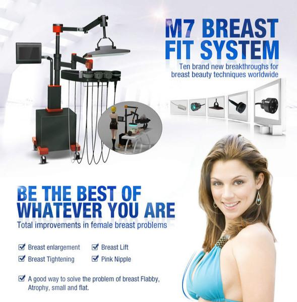 2020 NEUE Brust elektronische Massagegerät Brust verbessern Infrarot-Wärmeaktivierung Bio-Elektrostimulation Vakuum Saug Brustvergrößerungsmaschine