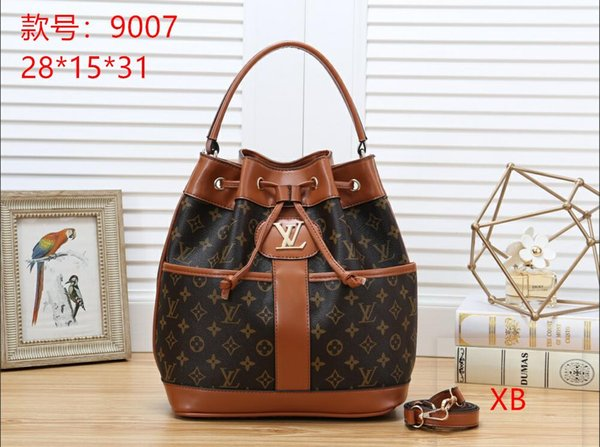 2019 brand designer women's fashion handbags ladies PU leather handbags brand wallet purse handbags shoulder bag Drop shipping B020