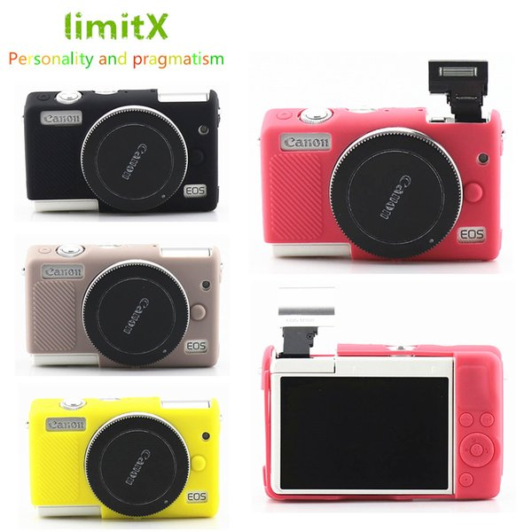 limitX Silicone Armor Skin Case Body Cover Protector for EOS M100 Digital Camera ONLY
