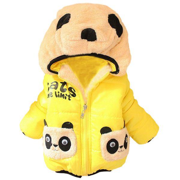 Boys Girls Outerwear Coat Kids 2016 Cartoon Jacket Fashion Girl's Winter Clothes Jacket Toddler Girls Parka Children Clothing