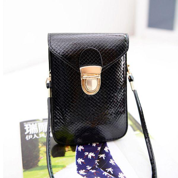 Cheap 2017 New Fashion Women Mini Shoulder Bag Satchel Cross Body Purse PU Leather Messenger Tote Handbag bolsa feminina Free Shipping