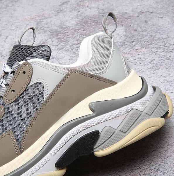 Toptan Üçlü-S Tasarımcı Wrap Sneakers Erkek Bayan Koşucu Ayakkabı Yeni Renk Kırmızı Gümüş Siyah Gri Spor Persona Çizmeler En Iyi Kalite