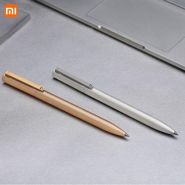 Xiaomi Mijia Metal Sinal P-E-N PREMEC Suave Suíça Recarga Ligas de Liga MiKuni Japão Tinta Preta 0.5 Assinatura Assinatura P-E-N