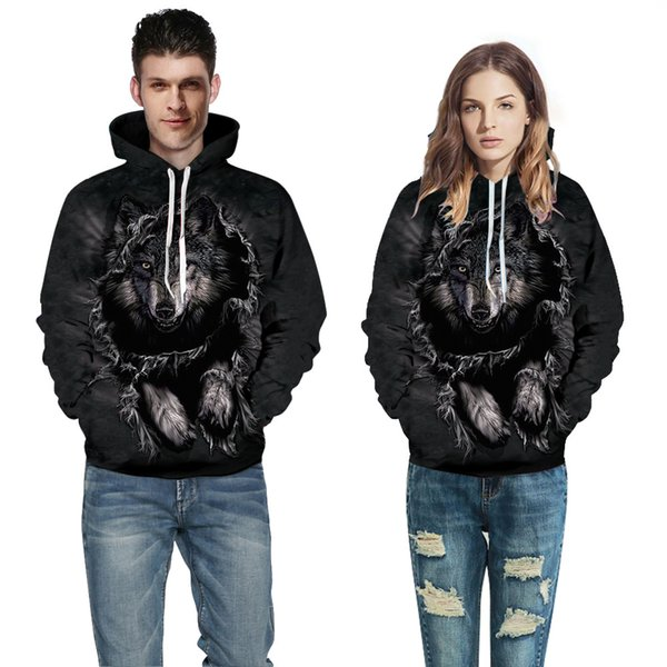 6 Sizes 2018 European and American Couple Wear Sweater 3D Digital Printing Hat Baseball Suit Autumn Winter Wear A0376