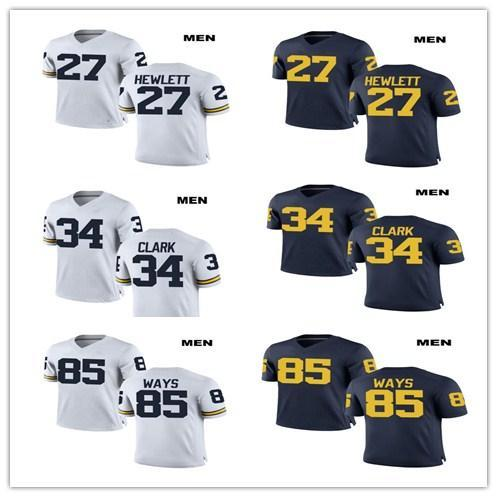newest collection 37834 7f69f 2019 Customize 2019 Michigan Wolverines Jeremy Clark College ...