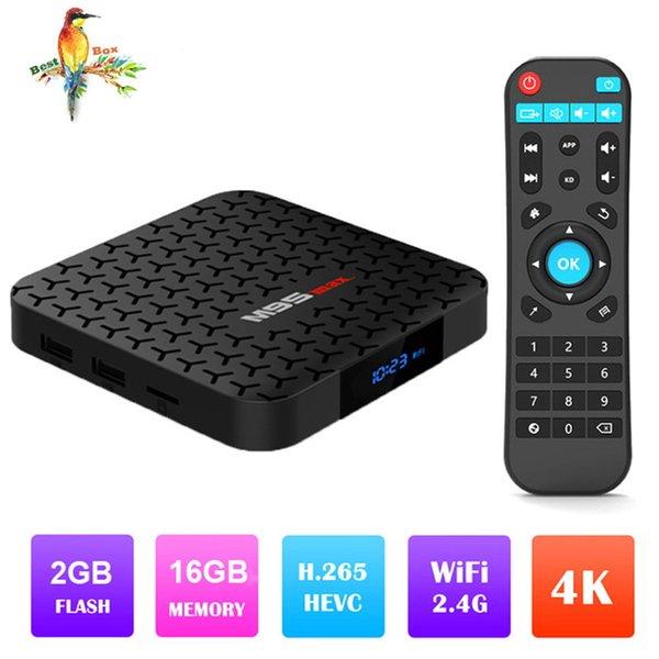 M9S MAX Android 7.1 TV BOX Amlogic S905W 2GB 16GB Quad Core HD 4K WiFi Smart Streaming Media Player Better HK1 Max X96 MAX TX6 S905X2