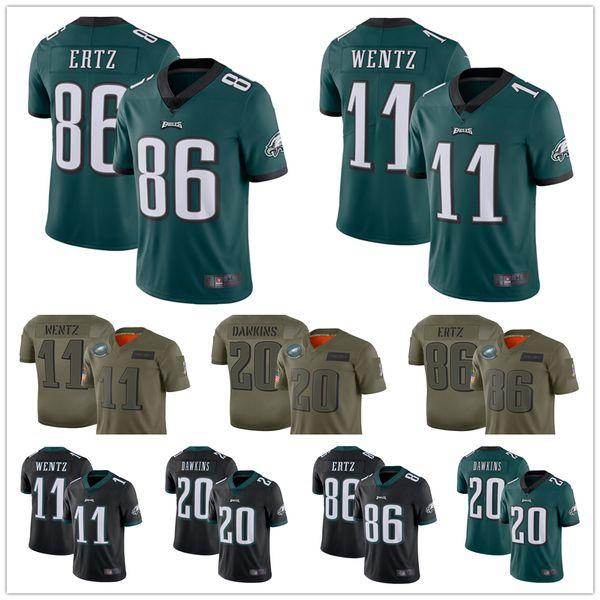 best selling Philadelphia Jersey Eagles 11 Carson Wentz 10 DeSean Jackson 20 Brian Dawkins 86 Zach Ertz men 26 Miles Sanders women youth football Jerseys