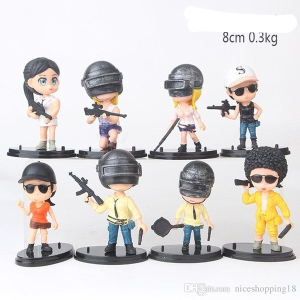 8cps a set Mini toy Wholesales price 514 Girl & boy doll Kids gift toy Hanging ornaments Vehicle mounted ornament doll