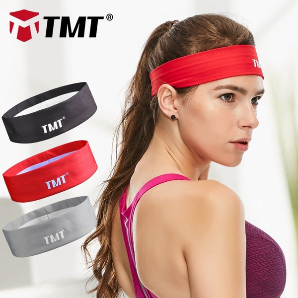 TMT Sport Sweatband tennis fitness Hairbands Yoga Football running Headband Elastic Stretch badminton Head Band for men women #134714