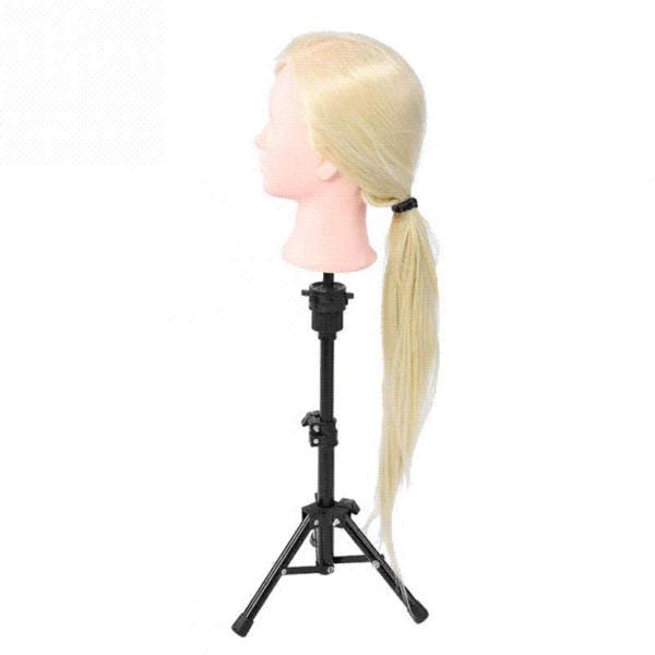 Cabeza de maniquí con peluquería para el cabello Practce muñecas simuladas Peluquería Peinados Cabezales de entrenamiento Cabeza de maniquí de alta calidad