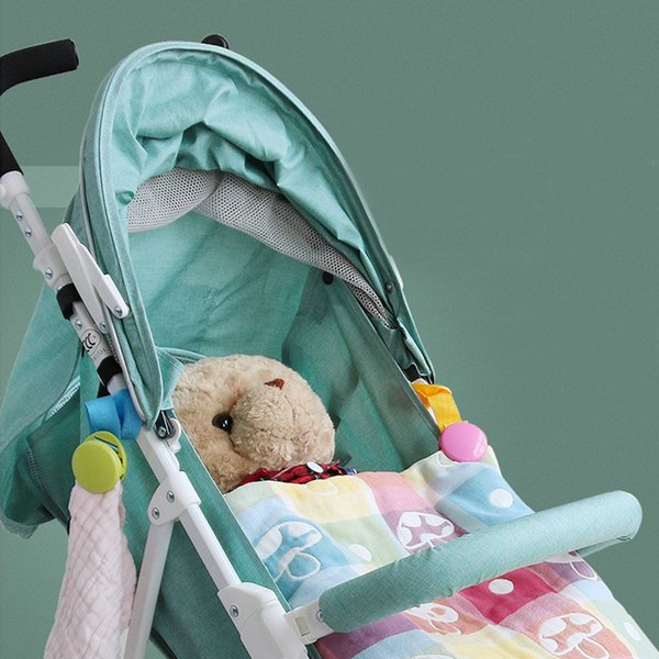2Pcs/Set Stroller Accessories Baby Stroller Multifunction Clip Baby Blanket Quilt Kick-proof Strong Clip