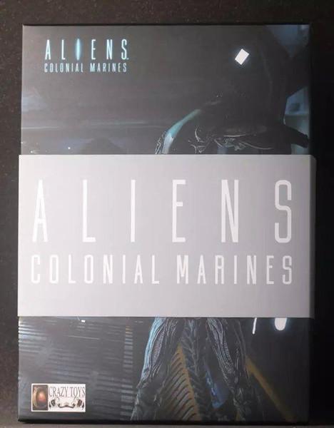 Alien Colonial Marines Toys Alien Figure PVC Action Figure Toy 12 Inch